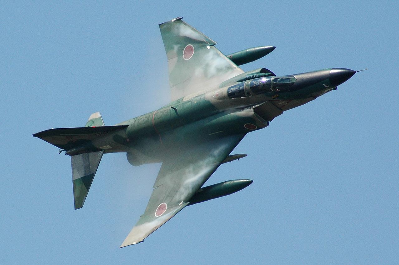 RF-4 ベストショットなRF-4。今まで悪天候でまともなRF-4の写真が撮れてい... 百里基