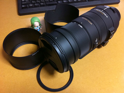 超望遠ズームレンズ SIGMA APO 50-500mm F4.5-6.3 DG OS HSM