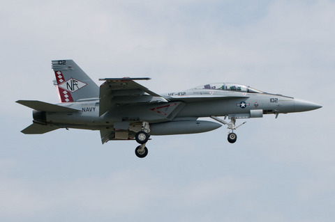 VF-102 Diamondbacks F/A-18F CAG機 厚木基地