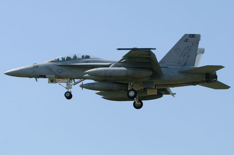VFA-102 Diamondbacks F/A-18F #106