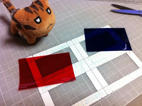 赤青3Dメガネを作ってアナグリフ式立体視を試す