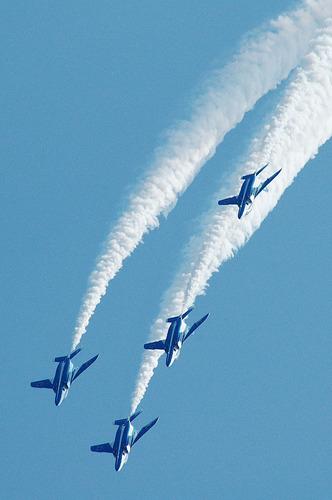 2005年静浜基地航空祭のブルーインパルス