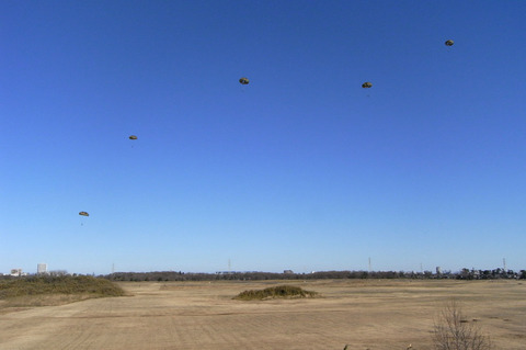 2009年 第1空挺団初降下訓練