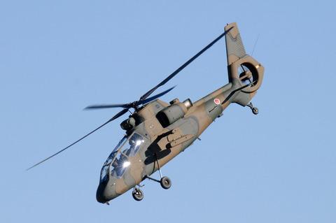 2009年 第1空挺団初降下訓練 その2 OH-1
