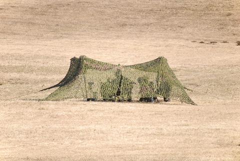 2009年 第1空挺団初降下訓練 その3 迫撃砲陣地