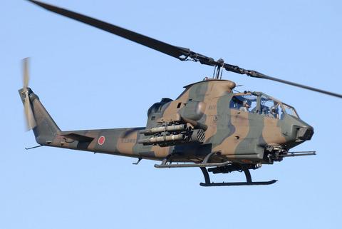 2009年 第1空挺団初降下訓練 その3 AH-1S