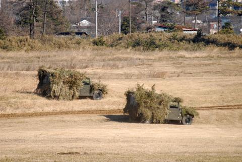 2009年 第1空挺団初降下訓練 その3 高機動車