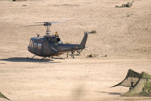 2009年 第1空挺団初降下訓練 その3 負傷者回収
