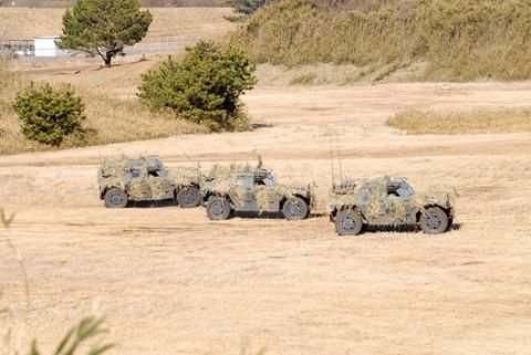2009年 第1空挺団初降下訓練 その4 軽装甲機動車