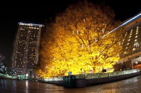 ラクーア・東京ドーム周辺のイルミネーション