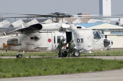 米海軍厚木基地 桜祭り/スプリングフェスティバル SH-60J