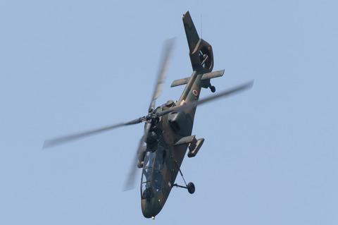 2012年 北宇都宮駐屯地祭 OH-1 機動飛行