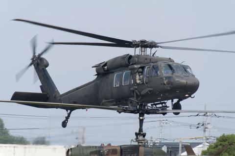2012年 北宇都宮駐屯地祭 米軍のUH-60
