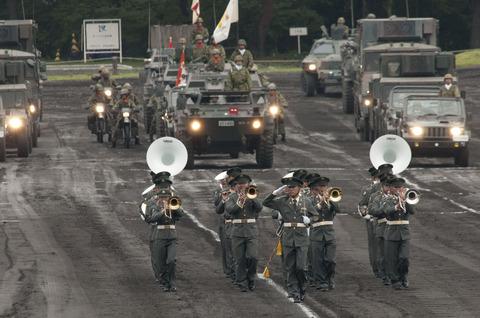2012年 富士学校開設58周年記念行事 記念式典・観閲行進