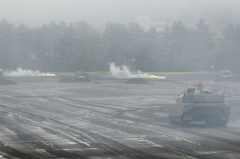 2012年 富士学校開設58周年記念行事 訓練展示