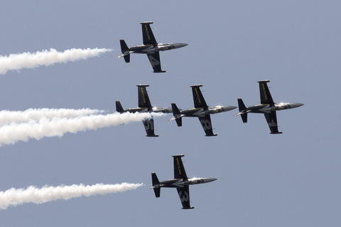 BREITLING JET TEAM JAPAN TOUR 2013 神戸