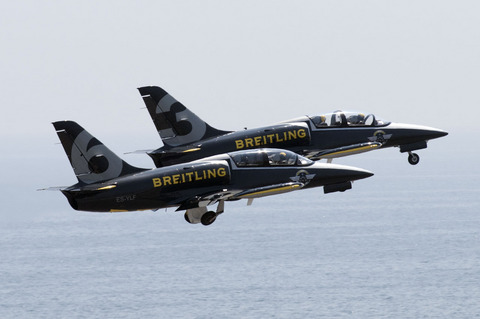 BREITLING JET TEAM JAPAN TOUR 2013 神戸 前日予行